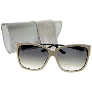 Swarovski SK0057-25B-60 Cat Eye Women's Sunglasses